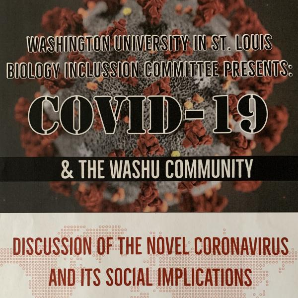 Biology community comes together to share thoughts, concerns about COVID-19