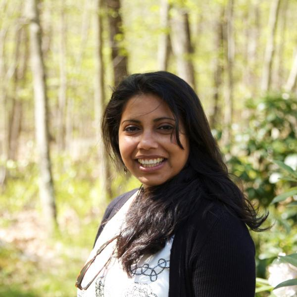 Associate Professor Arpita Bose will be a faculty marshal in the graduate student ceremony on May 21st