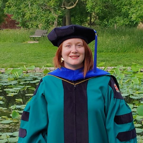 Five DBBS graduate students working in Biology labs earned doctorates in 2021