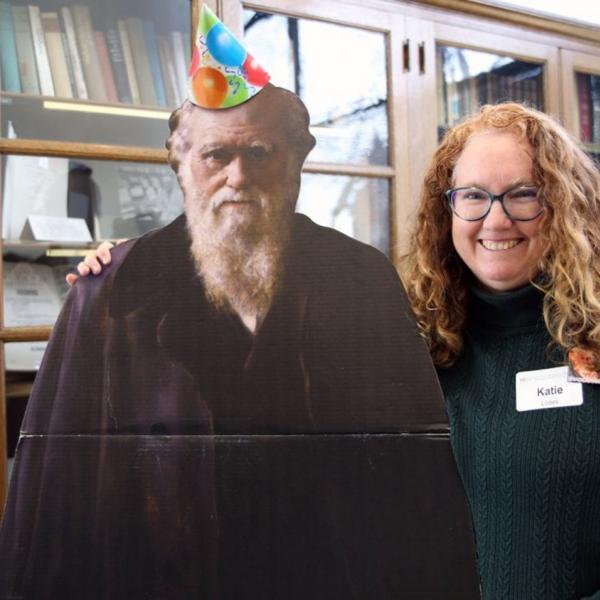 ISP celebrates Darwin Day, names new Kirk Teacher Fellow