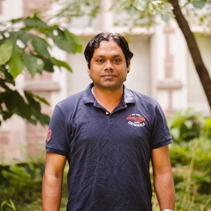 Headshot of Sandeep Biswas