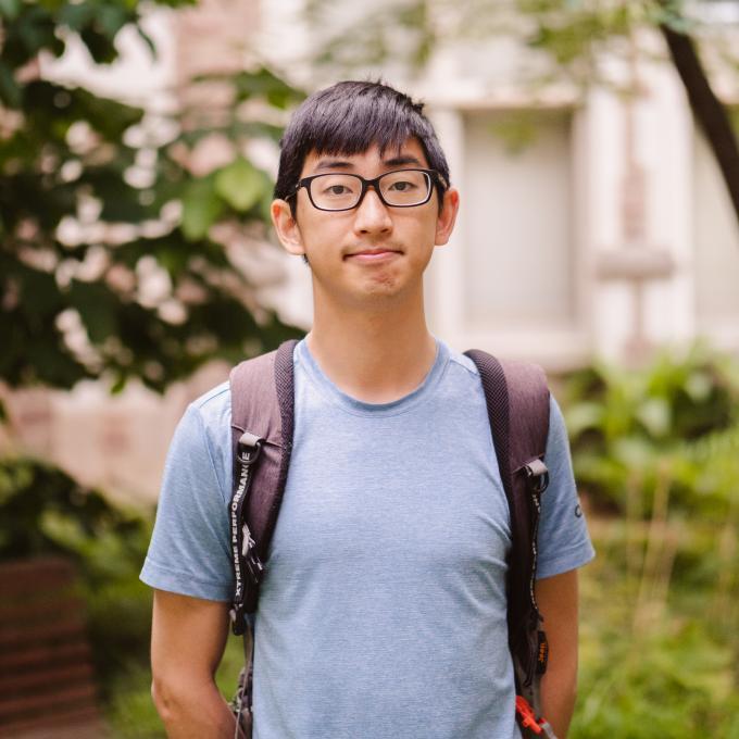 Headshot of Wen-Hsi Kuo