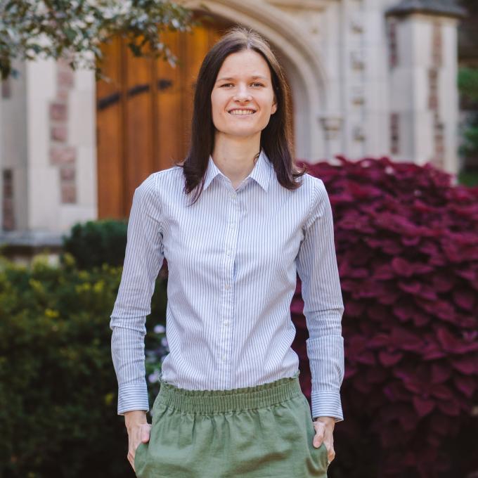 Headshot of Marta Wegorzewska